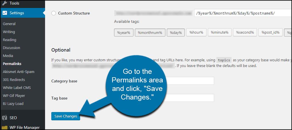 Save Permalinks