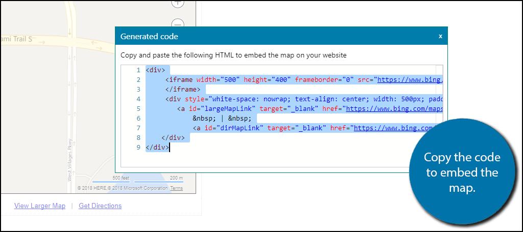 How to Add Bing Maps to WordPress - GreenGeeks