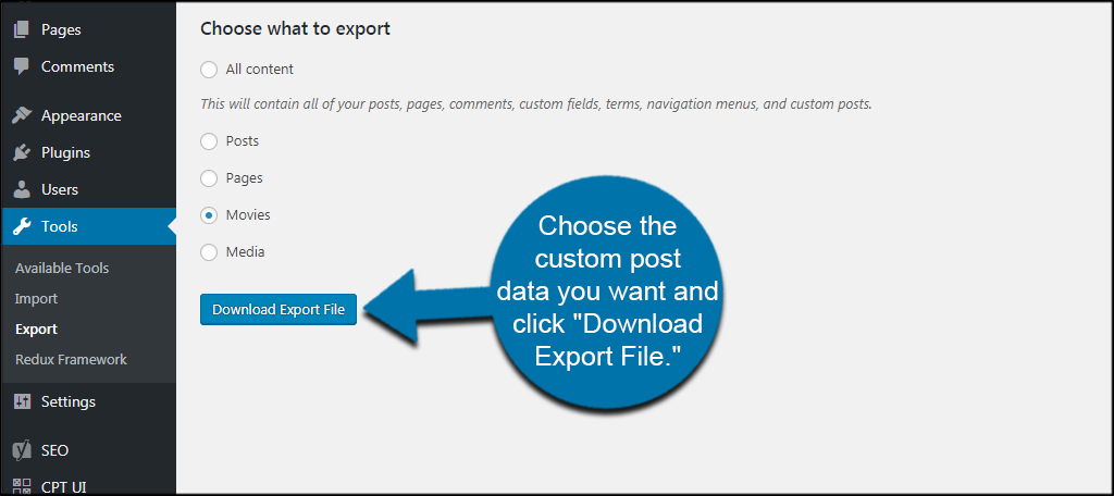Download Export