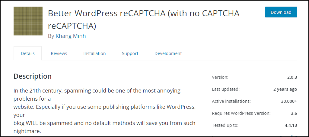 Better WordPress reCAPTCHA
