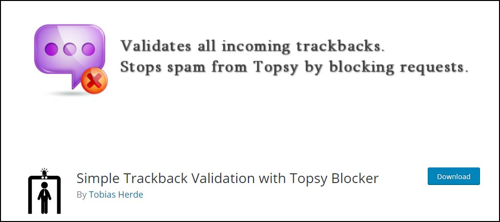 Topsy Blocker