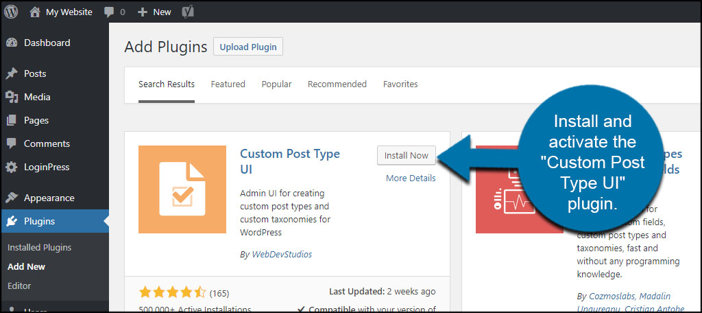How to Create Custom Post Types with a Category in WordPress