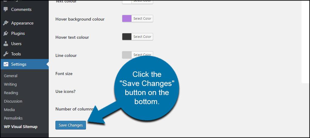 Save WP Visual Sitemap
