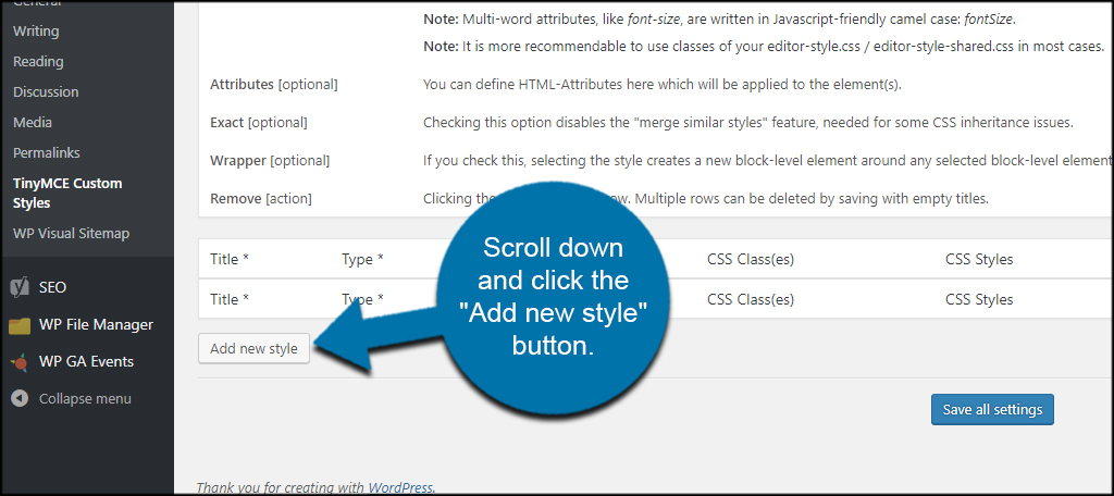 How to Use the WordPress Visual Editor with Custom Styles - GreenGeeks