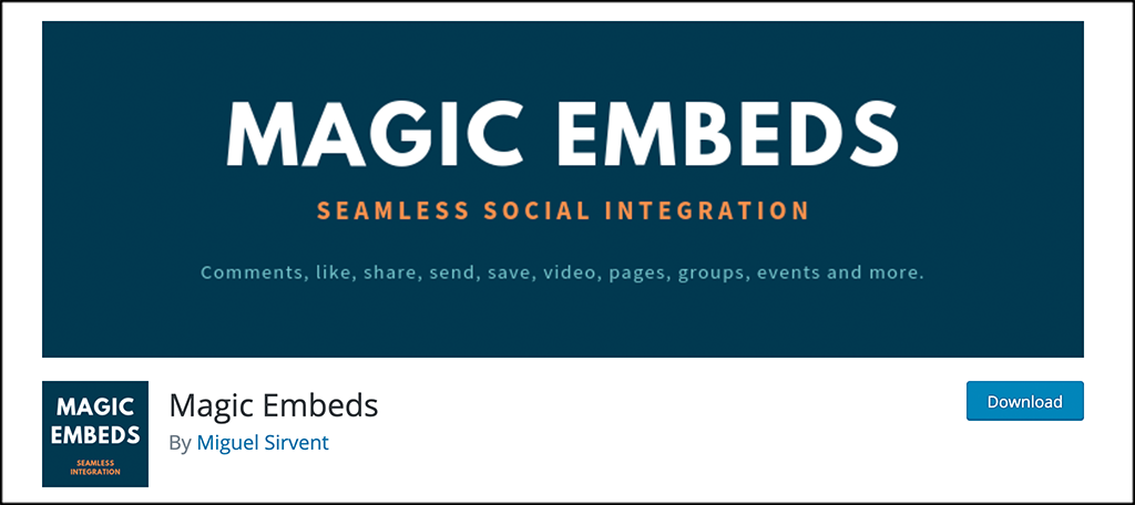 Magic Embeds