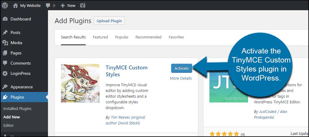 How to Use the WordPress Visual Editor with Custom Styles - GreenGeeks