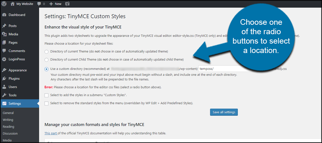 How to Use the WordPress Visual Editor with Custom Styles