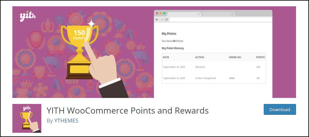 Yith Points Rewards