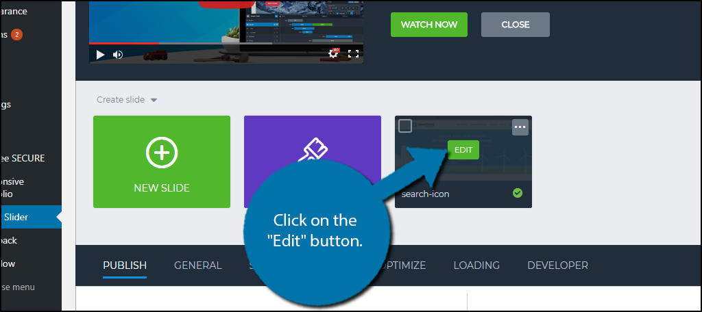 """Click on the """"Edit"""" button."""
