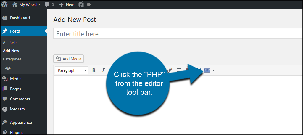PHP Button