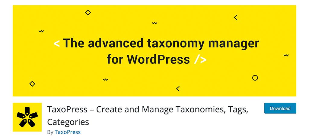TaxoPress plugin