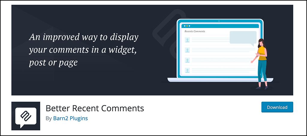 Better Recent Comments plugin