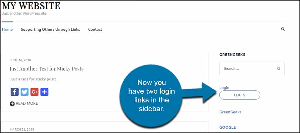 How to Create a Popup Login for WordPress - GreenGeeks