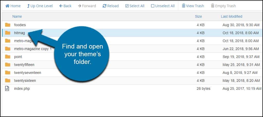 Theme Folder