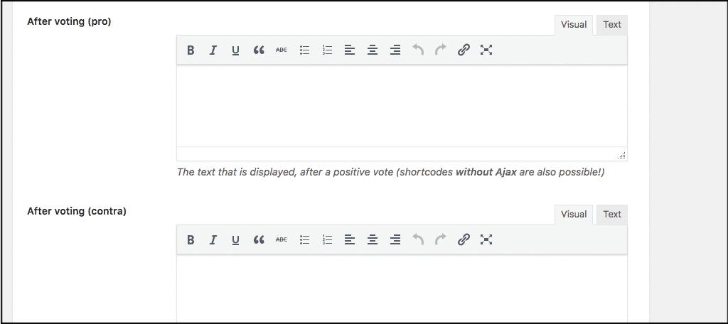 Wordpress helpful plugin settings