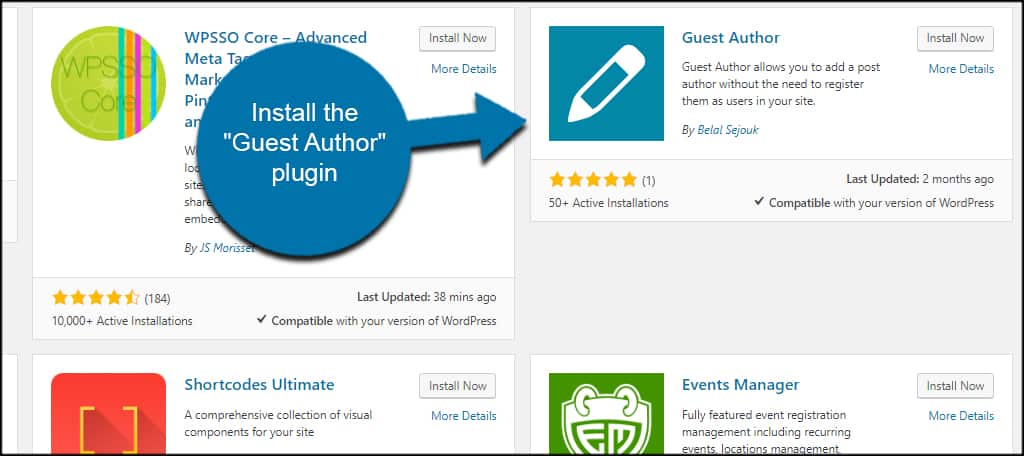 How to Add a Guest Author to WordPress without Registration - GreenGeeks