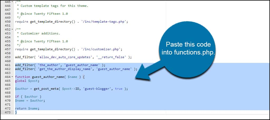 Paste PHP