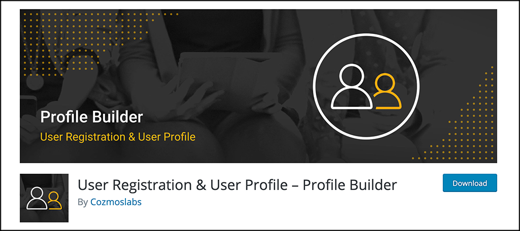 profile builder plugin
