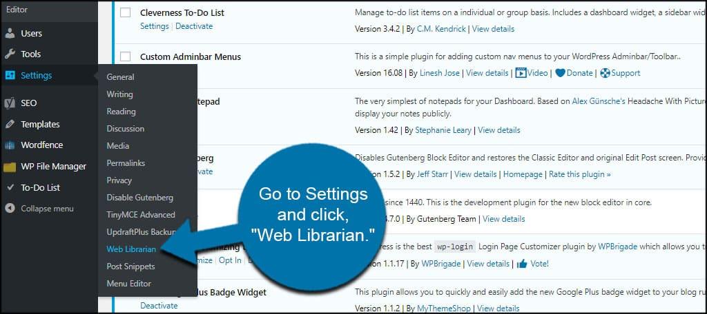 Web Librarian