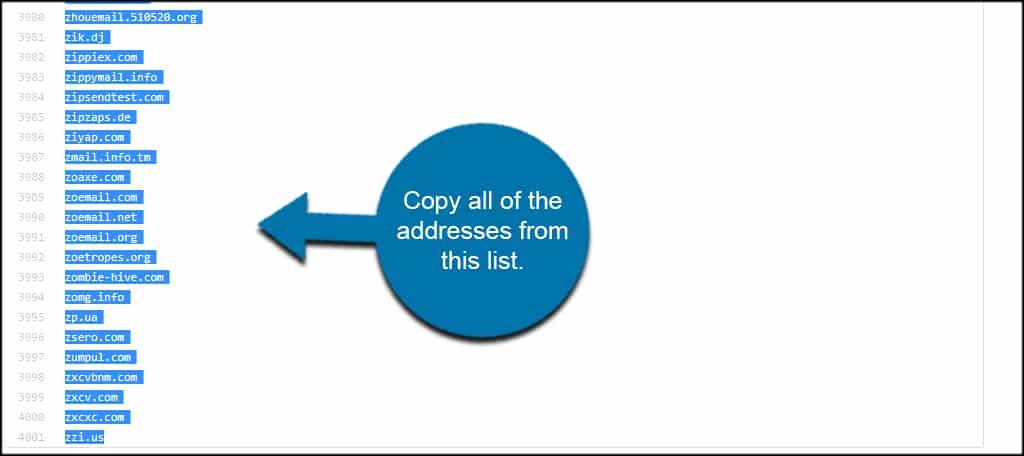 Copy Domains