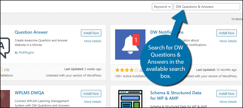 DW Questions & Answers