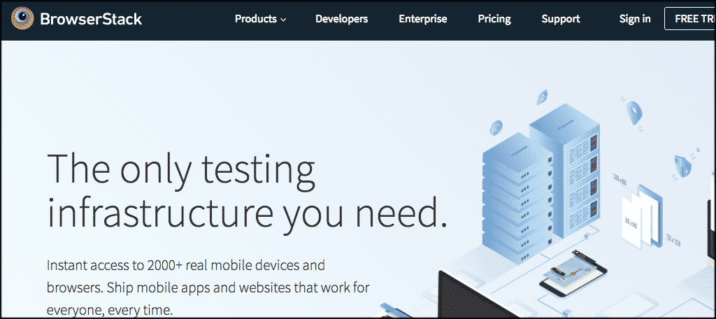 Browserstack cross browsing testing tool