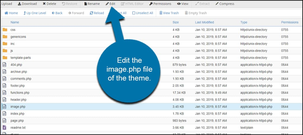 Edit Image PHP File