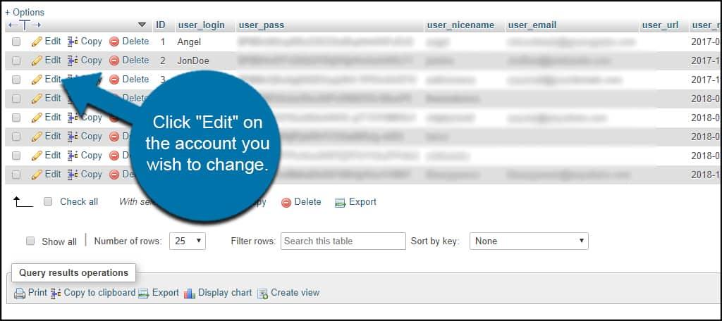 Edit User