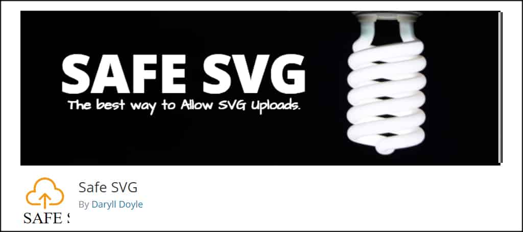 Safe SVG WordPress