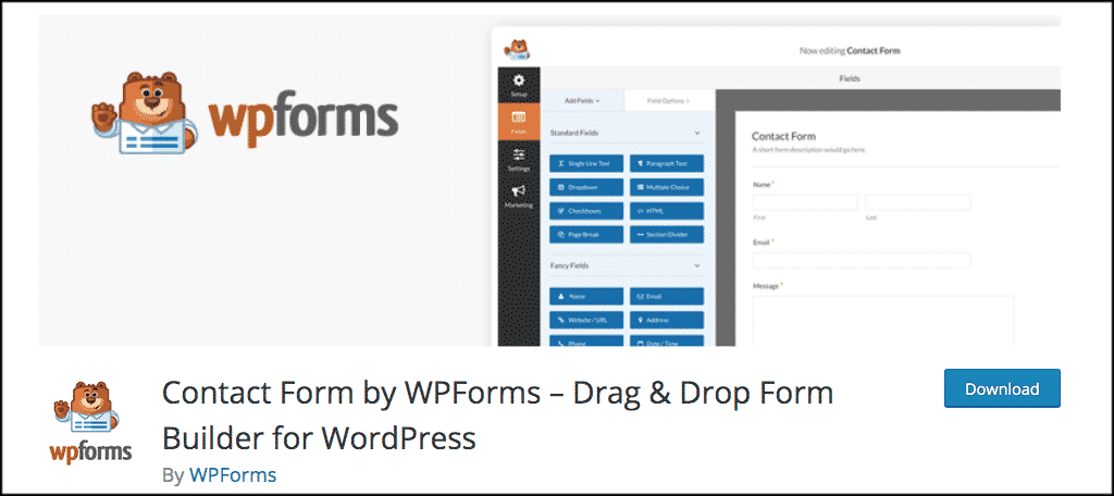 Wp-Forms plugin
