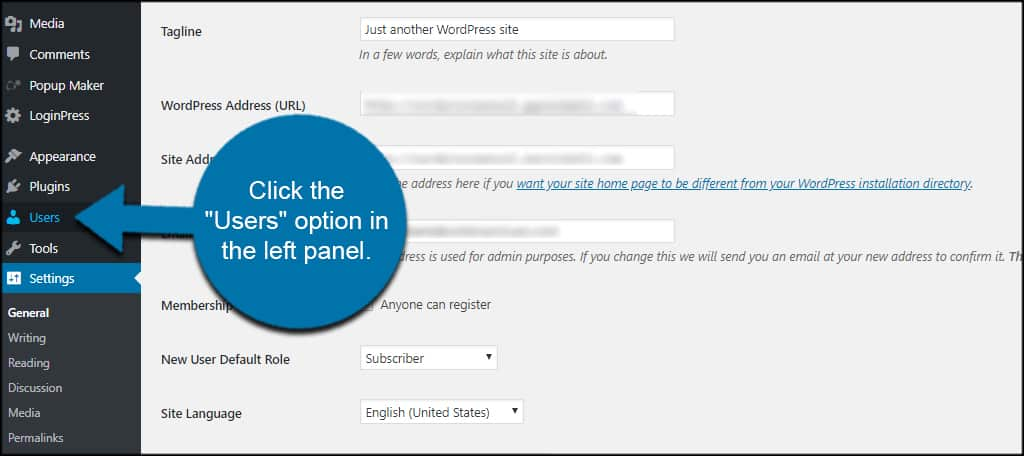 Wordpress Users
