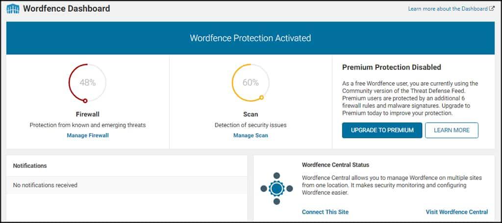Install WordPress Security