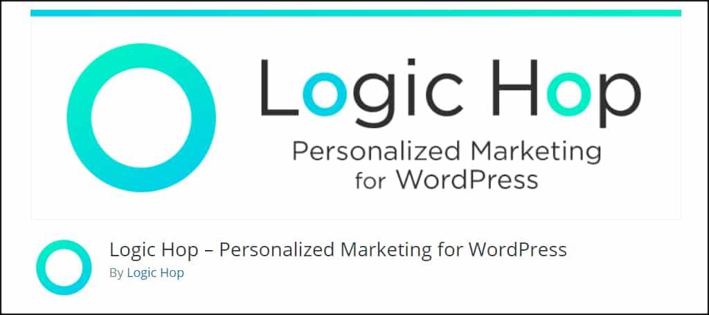 Logic Hop Personalize Website