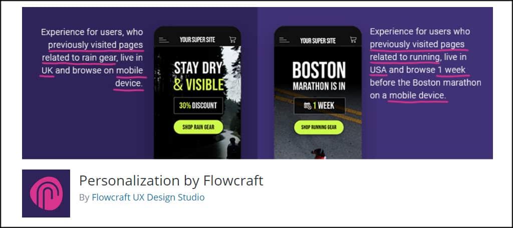Personalization Flowcraft