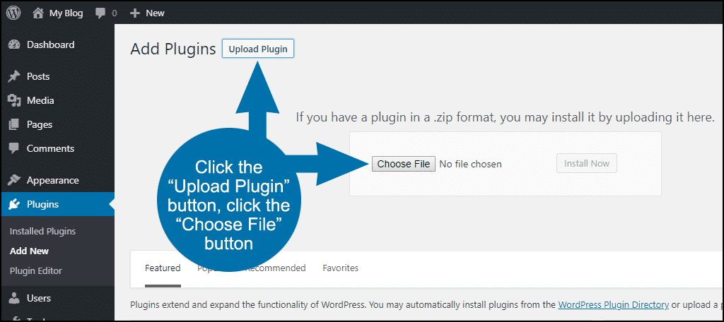 tutorial create site-specific custom WordPress plugin step 6