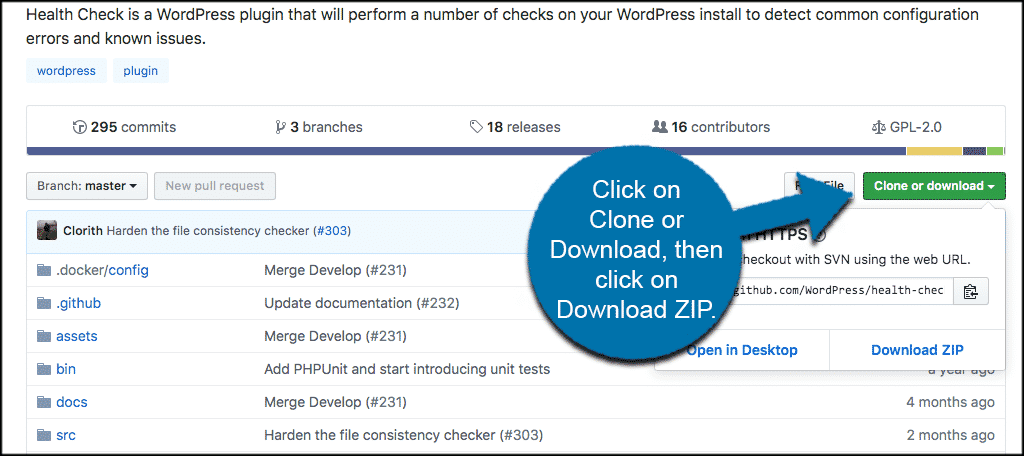 click on clone or download and then click on download zip in github