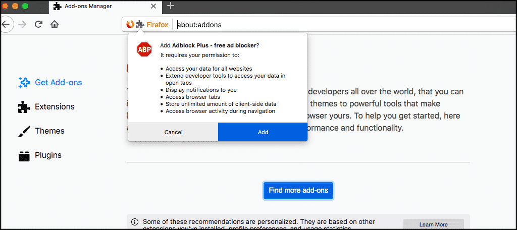 How To Install Extensions in Firefox - GreenGeeks