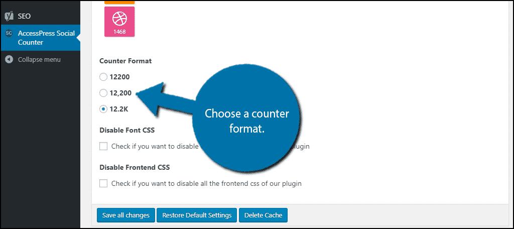 Select a counter
