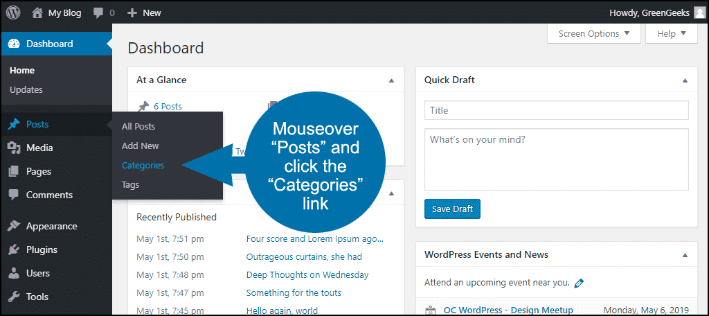 how to exclude posts or pages from WordPress search step 10