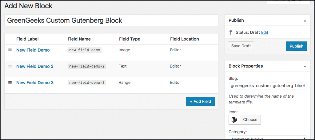 Publish your custom gutenberg block
