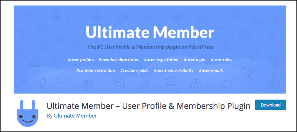 Ultimate member plugin