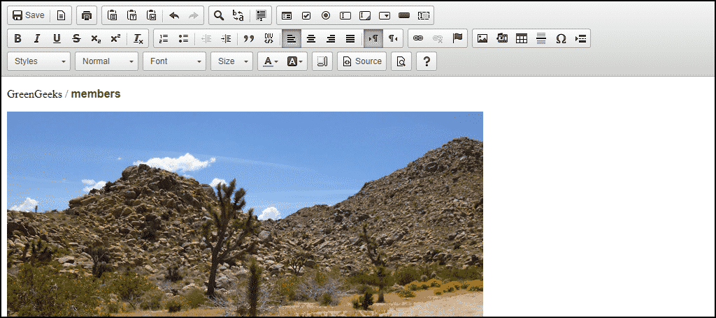 "selecting ""HTML Editor"" opens the file in a visual editing window"