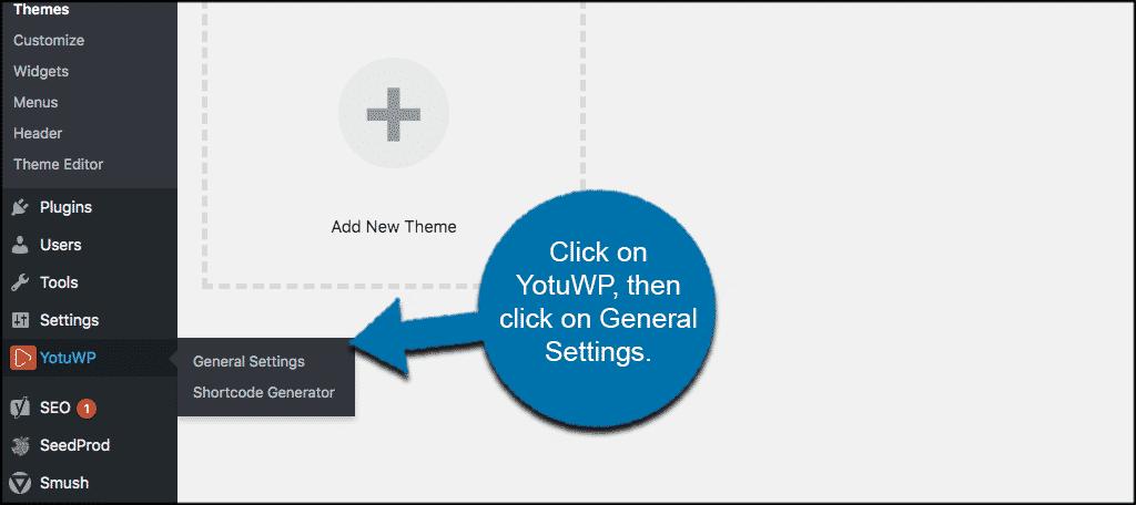YotuWP general settings