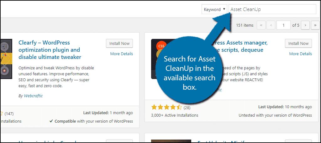 Search For Plugin