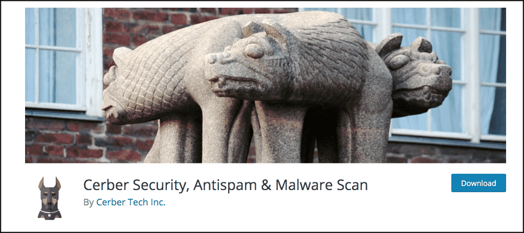 Cerber Security, Antispam & Malware Scan plugin