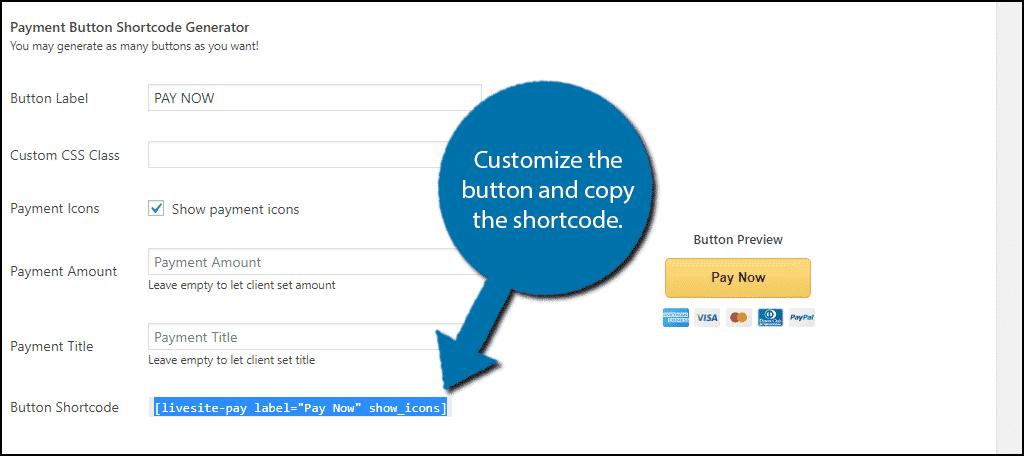 Copy Shortcode