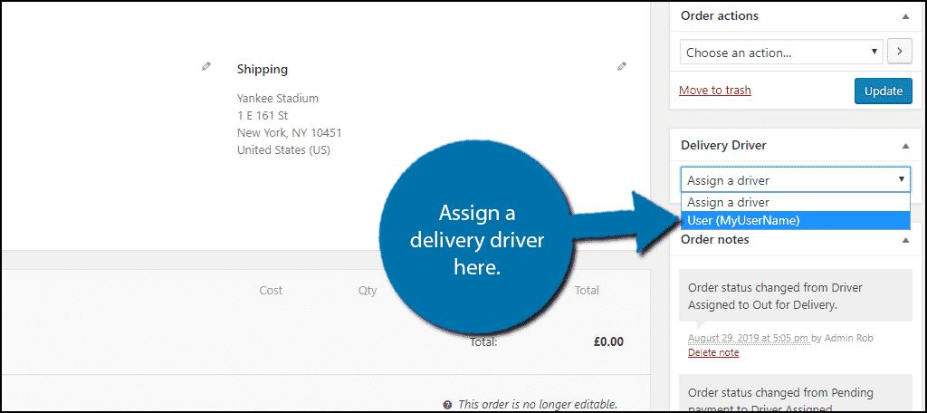 Select a Driver