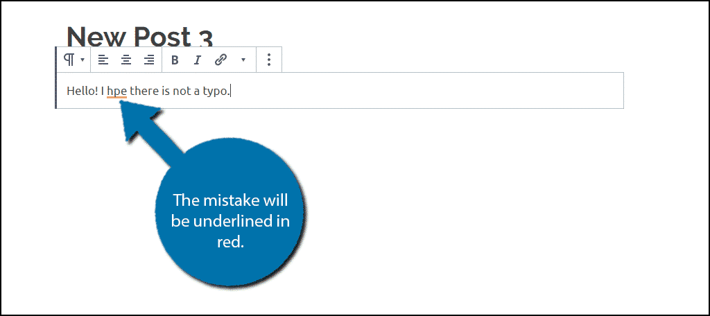 Red Underline