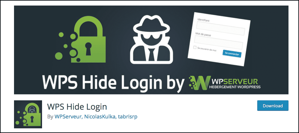 WPS hide login plugin