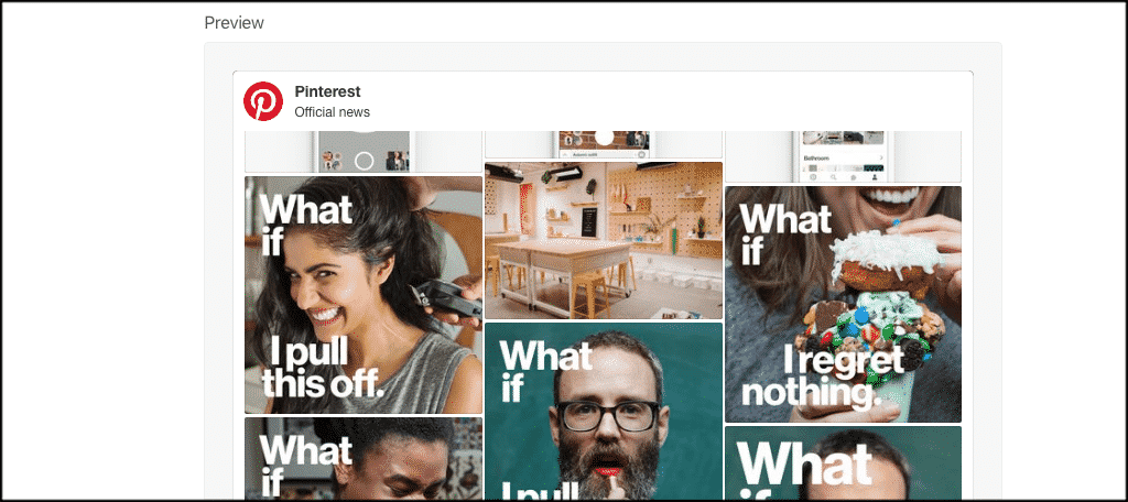 How To Add A Pinterest Gallery Page In Wordpress Greengeeks